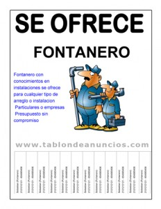 Ejemplo cartel realizado con plantilla